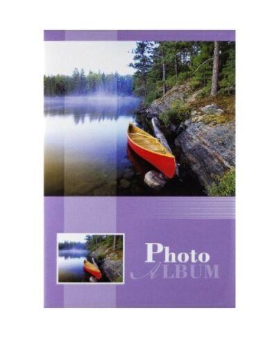 Deslizamiento en Photo Album contiene 200 6 X 4 Fotos Con Memo vacaciones Recuerdos Regalo