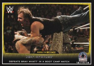 Dean Ambrose #72 WWE Road to combat 2015 TOPPS TRADING CARD