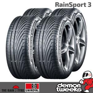 2254018 2 x Uniroyal RainSport 3 temps humide pneus 225 40 R18 92 W Xl