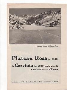Pubblicita-vintage-CERVINIA-PLATEAU-ROSA-BERNA-advert-reklame-werbung-publicite