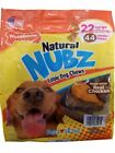 Nylabone Natural Nubz U921485C Edible Dog Chews, 2.6lbs - 22 Count