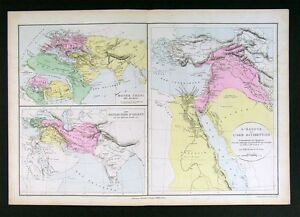 1882-Map-Ancient-World-Egypt-Palestine-Asia-Orient