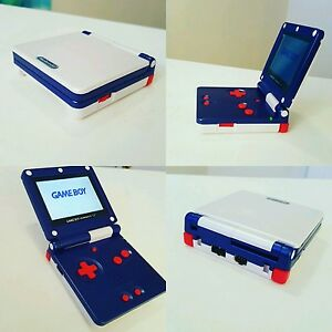 Details about NINTENDO GAMEBOY ADVANCE SP GBA SP SYSTEM AGS 101 CUSTOM MINT  (BRIGHTER SCREEN)