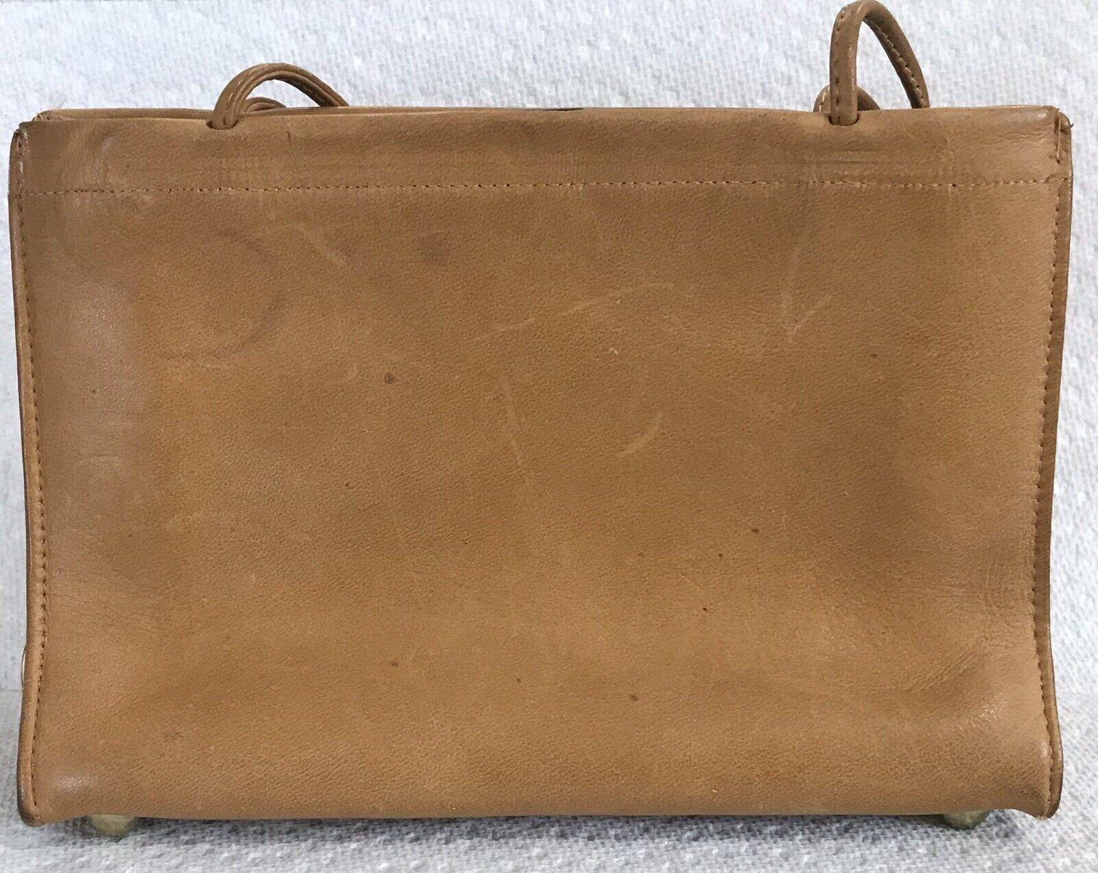 Vintage Coach Rare Leather Bonnie Cashin Stripe I… - image 4