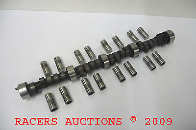 Small Block Chevy Hardcore Solid Flat Tappet Racing Camshaft 506//506 Lift SBC