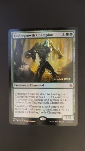 Battle for Zendikar ** Undergrowth Champion FOIL ** Mtg Magic NM!