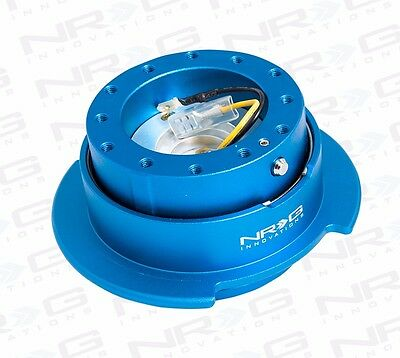 NRG Steering Wheel GEN 2.5 QUICK RELEASE Kit (BLUE Body / BLUE Ring)