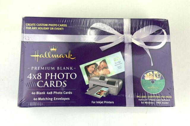40 Hallmark Premium Blank 4x8 Photo Cards & Envelopes - For Sale