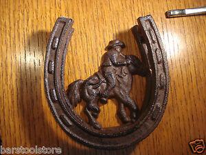 Cowboy Door Knocker Horseshoe Cowgirl Horse Equestrian Cast Iron Western - Deutschland - Cowboy Door Knocker Horseshoe Cowgirl Horse Equestrian Cast Iron Western - Deutschland