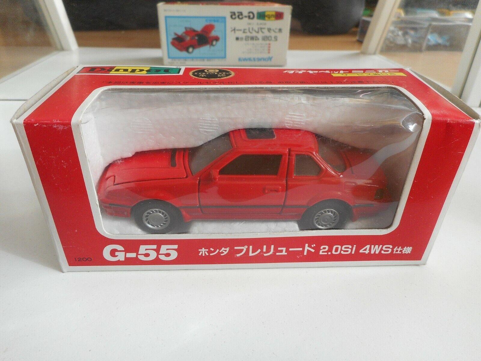 Yonezawa Diapet Honda Prelude 2.0 SI 4Ws in red on 1 40 in Box