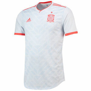 3fafff7fd48 Image is loading Spain-Authentic-Football-Away-Shirt-2018-Football-Sport-