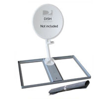 Non-penetrating Mount Satellite Dish Directv Roof Base & Protective Mat 6003