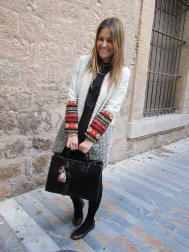 Linen Moyen Veste Manteau M Aztèque Taille Zara Combinaison Blogueurs Ethnique Rustique RwSWxd4