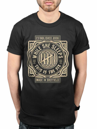 Official While She Sleeps This Is The Six T-Shirt Metalcore Band WSS Death Toll