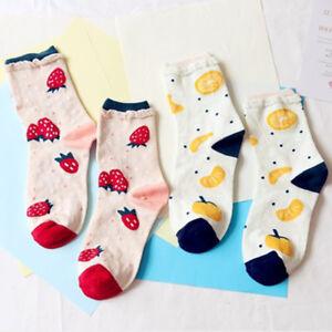Fashion-Orange-Strawberry-Fruit-Socks-Women-Cotton-Casual-Socks-Soft-Warm-Socks