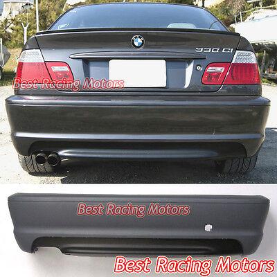 99-05 BMW E46 3-SERIES 4DR SEDAN M-TECH II STYLE REAR BUMPER