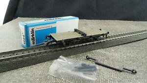Maerklin-4684-H0-Drehschemelwagen-DR-DJ-227-unbespielt-OVP