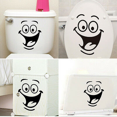 Wall Sticker Toilet Kitchen Room Decals Mural Art Removable Bathroom Decor DIY