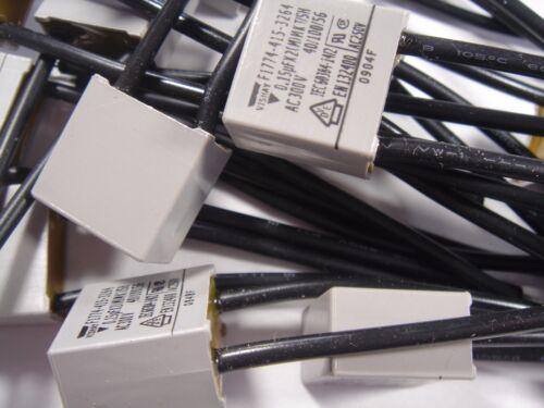 5x 0,15uF 150nF 300Vac Entstör Kondensator MKT-X2 VISHAY #11F41