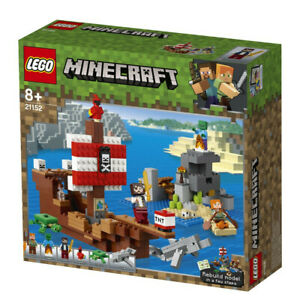 NEW-LEGO-MINECRAFT-PIRATE-SHIP-ADVENTURE-SET-21152