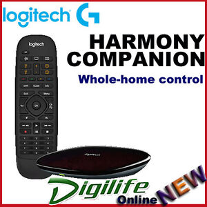 7b13f919c3c Image is loading Logitech-Harmony-Companion-Whole-home-Control-Universal- Remote-