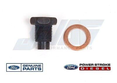 08-10 6.4 Powerstroke Diesel Genuine Ford Oil Pan Gasket Set F250 F350 F450 F550