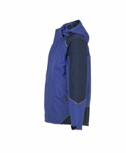 Planam Outdoor Winter Herren Desert Jacke blau marine Modell 3326