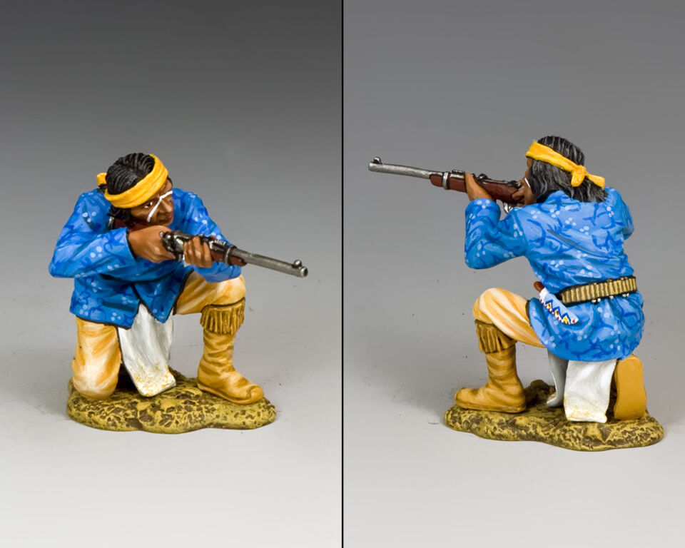 KING AND COUNTRY COUNTRY THE REAL WEST  Kneeling Firing , The Apaches TRW105