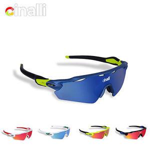 ac7c8cbef6 Image is loading CINALLI-Cycling-Sunglasses-Polarized-Eyewear-Sports-Racing- Goggles-