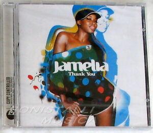 JAMELIA - THANK YOU - CD Sigillato Bonus Tracks - Italia - JAMELIA - THANK YOU - CD Sigillato Bonus Tracks - Italia
