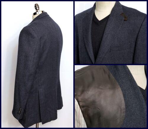 Nailhead Cappotto Size sportivo Ralph 42 2 Button Lambswool Blue R Lauren xq6BgI