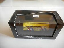 Minichamps Mercedes O302 Bus Niederlande WK 1974 in Yellow on 1:160 in Box