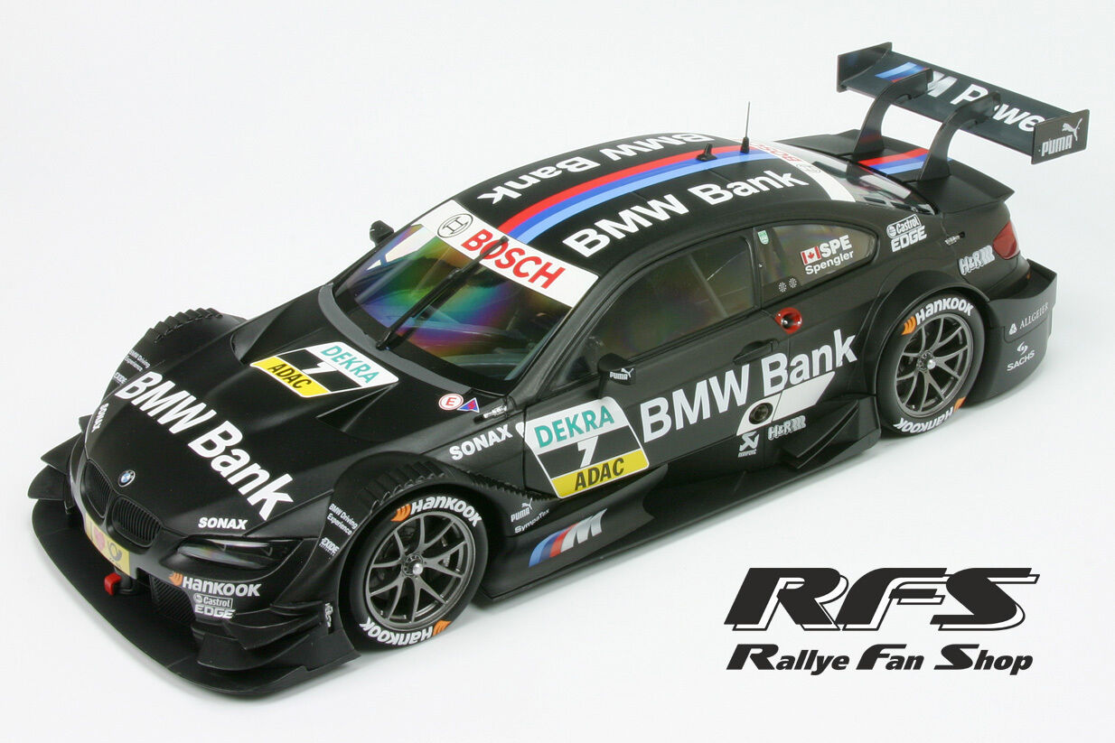 BMW m3 DTM 2012-équipe boulette-Bruno spengler DTM 2012 - 1 18 MINICHAMPS