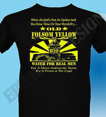 Johnny Cash Inspired T Shirt 3xl 4xl 5xl Folsom Prison Original Design John H20 Ebay