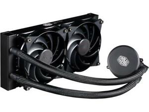MasterLiquid  240 All-in-one CPU Liquid Cooler with Dual Chamber Pump by Cooler