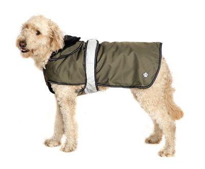 2 In 1 Khaki Dog Coat 30cm (12'')