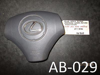 02-03 Lexus Es300 Volante Air Bag Xx-765