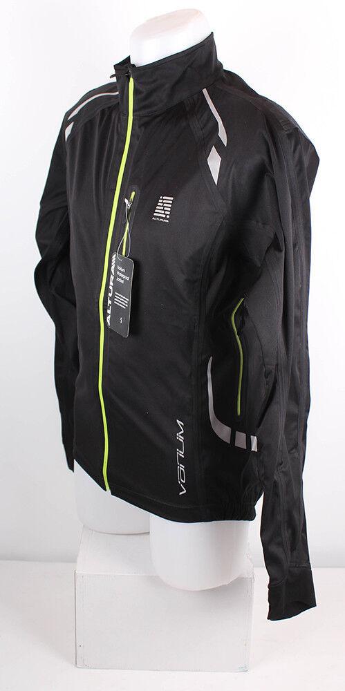 Altura mens varium waterproof lluvia MTB chaqueta-negro verde, talla s