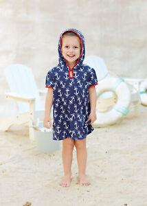 1a206b34c2711 Mud Pie E7 Summer Beach Toddler Girl Mini Hooded Swim Cover Up ...