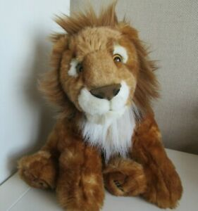 Scary Squeeze Stuffed Animals, Keel Toys Born Free Aslan Lion Soft Plush Toy Excellent Ebay