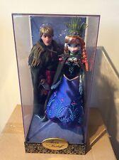 Disney Fairytale Designer Collection Anna & Kristoff Frozen Limited Edition Doll