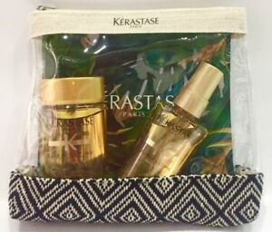 2018 Travel Kit Elixir : Bain 80ML + Elixir Ultime 50ML Kerastase