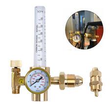 Cga 580 Mig Tig Flow Meter Regulator Argon Weld Regulator Gauge Gas Welder