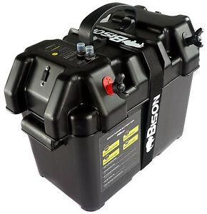BISON-BATTERY-BOX-CARRIER-WITH-USB-CHARGER-LED-METER-BREAKER-amp-12V-SOCKET