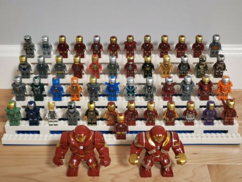 All Iron Man Suits Complete Lot MK1 MK85-51pc Collection Set For Lego
