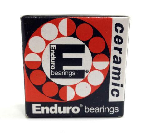 ENDURO CERAMIC HYBRID 6902 LLB SEALED CARTRIDGE BEARING 15 X 28 X 7