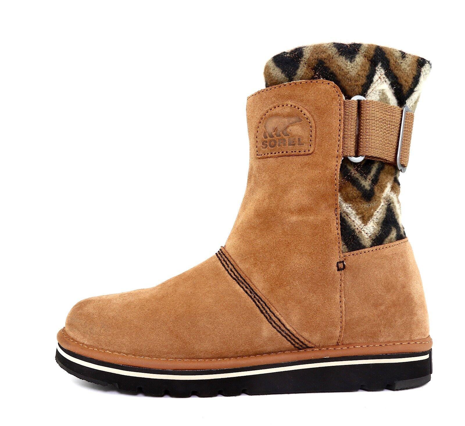 SOREL The Newbie Suede Boot Brown Women Sz 9 5531