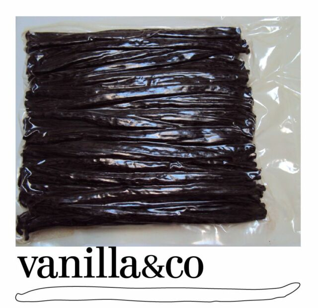 VANILLA BEANS / 500grams=125 Beans /14CM /Vacuum Sealed /Gourmet A Grade Organic