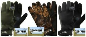 Pro-Climate-Neoprene-Fishing-Hunting-Shooting-Sports-Gloves-Fold-Back-Fingers