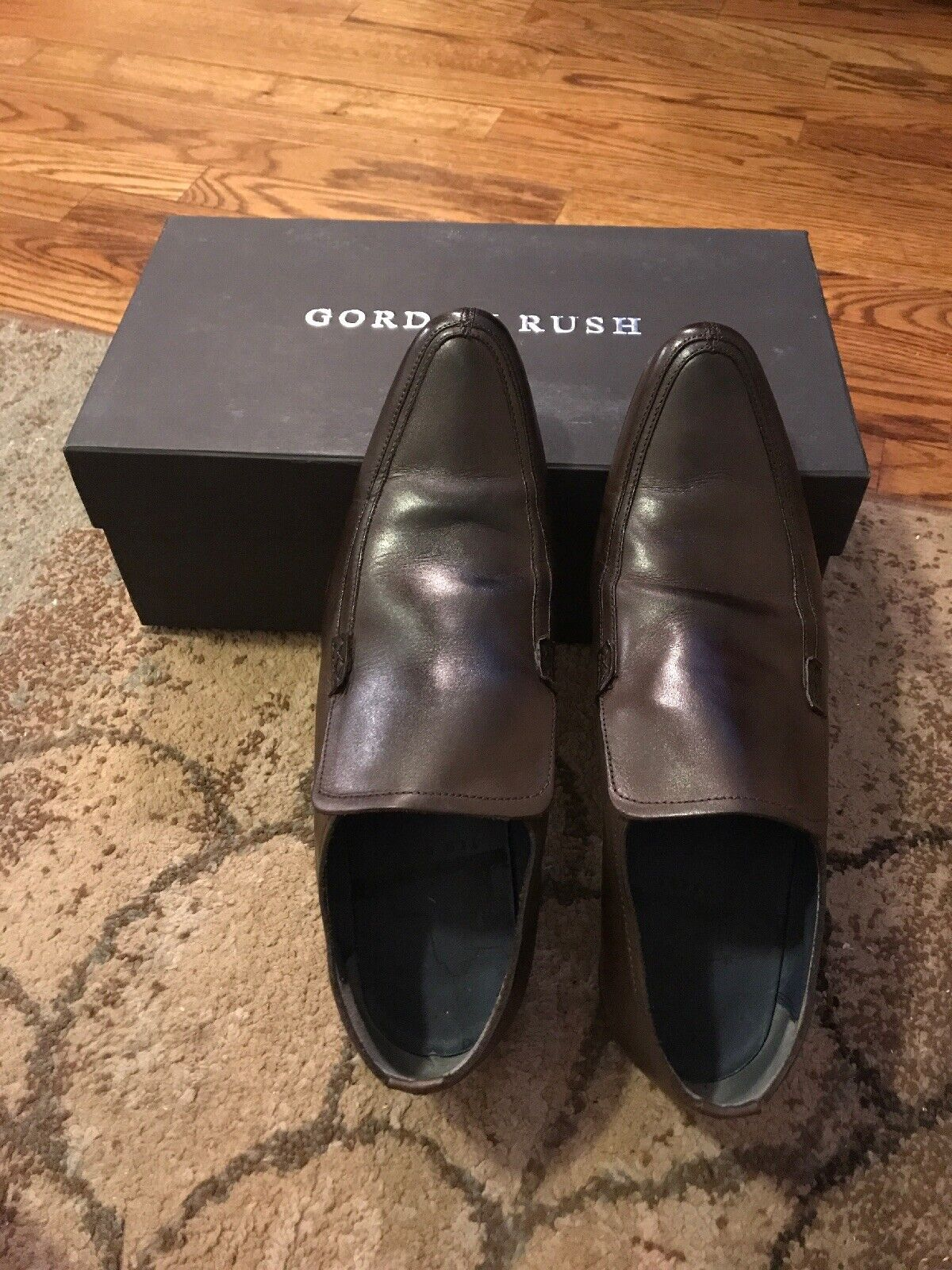 Gordon Rush Men's Loafers. Brown. Size 10. Used. Clean. Great Shape.